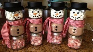 DIY Christmas Snowman Gift for Children