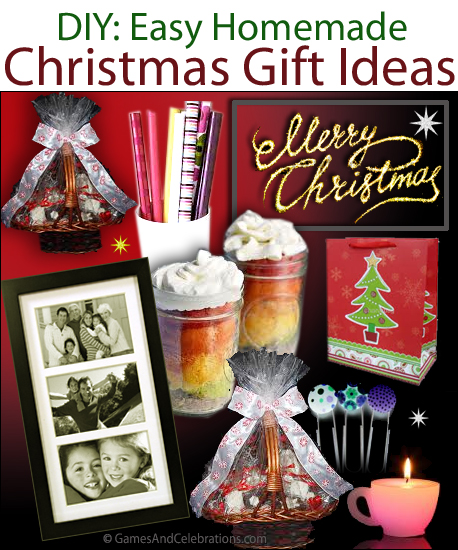 DIY Easy Homemade Christmas Gift Ideas