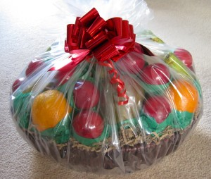 Easy Christmas Gift Basket for Granddad
