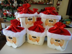 Easy Christmas Santa Claus Gift for Kids