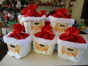 Easy Christmas Santa Claus Gift for Kids
