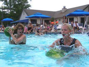 Hawaiian Luau Pool Party Game