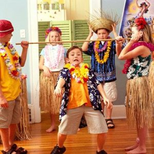 Luau Party Game for Kids