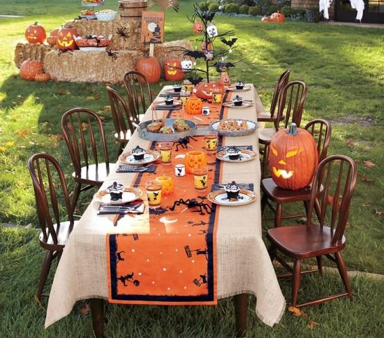 8+ Innovative Ideas For Halloween Table Decorations