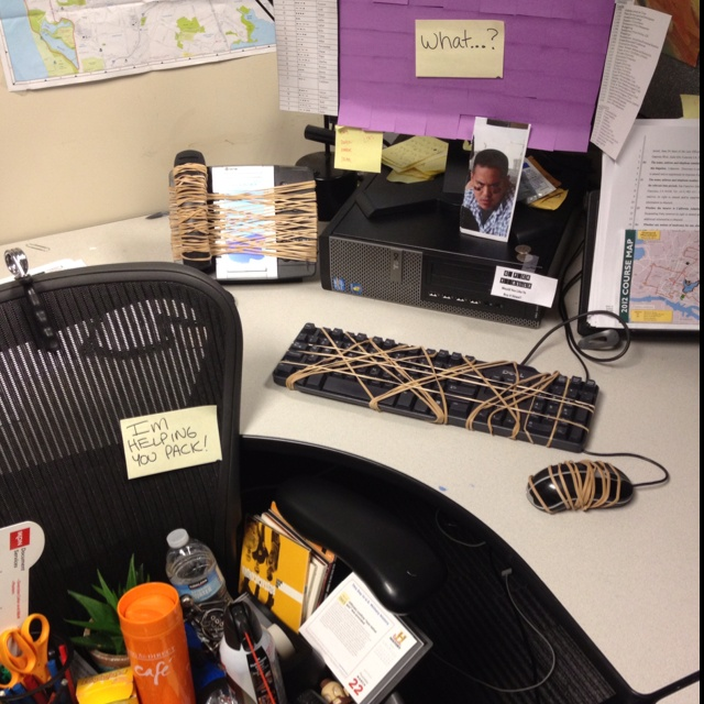 7 Awesome April Fools Pranks For The Office