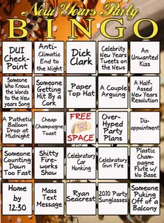 New years eve games for adults