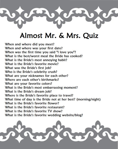 engagement party trivia game questions